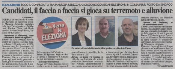 Articolo, M5S, intervista, Zironi, Carlino