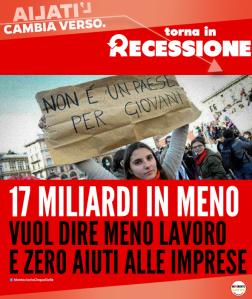 italia in recessione