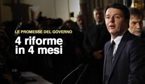 promesse  Renzi