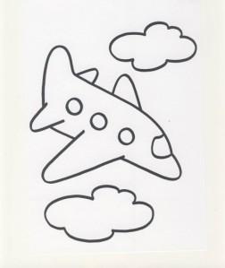 aereo-da-colorare
