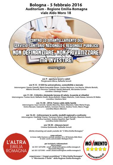 Convegno 5 febbraio Sanita pubblica